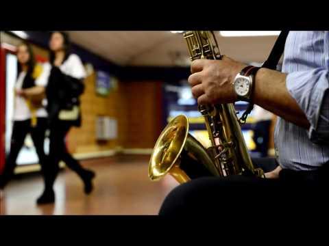 Músicos metro de Madrid