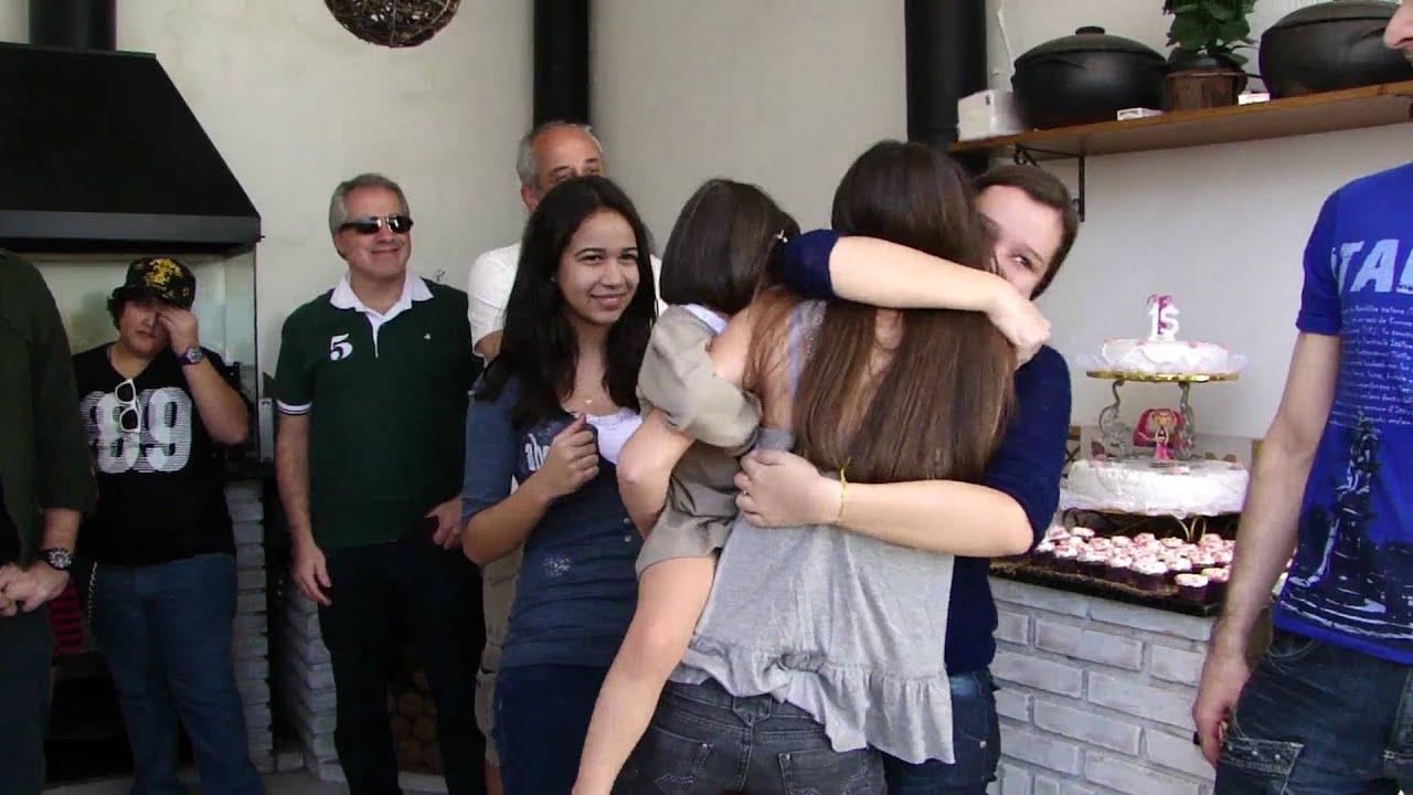 Festa Surpresa 15 Anos Bianca Romano Logiacco Youtube