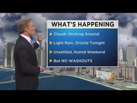 Clouds Will Stick Around Through Weekend