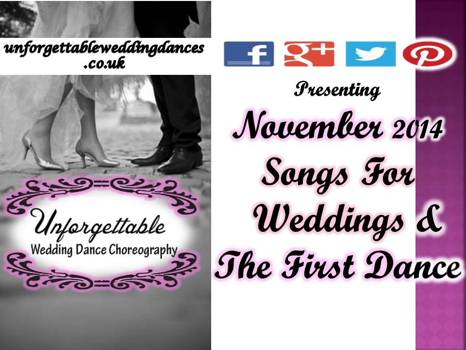 Wedding First Dance Songs Nov 2014 Youtube