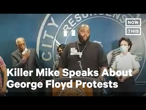 George Floyd: Killer Mike Makes Emotional Speech About Protests | NowThis