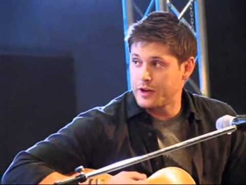 Jensen Ackles and Alona Tal Singing (Dean/Jo) - YouTube