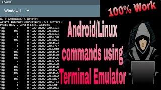Android commands using terminal emulator tutorial 1 screenshot 3