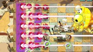 Lost City Zomboss Battle - Red Stinger vs Zombot Sphinx Inator
