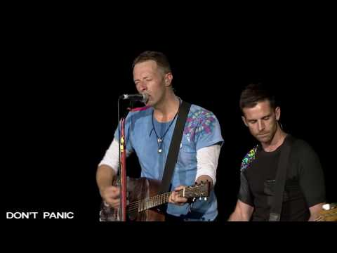 COLDPLAY - Don't Panic  (Acoustic Live 2017) 4Κ