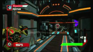 Transformer Cybertron adventures WII Walkthrough Autobots - Stage 4 - Paving the way
