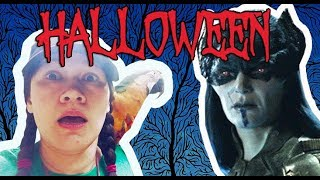 HELP! SCARY ENCOUNTER IN THE FOREST!! *This is halloween nightmare*