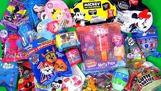 Toy Surprise 20 Blind Bags Tsum Tsum Minnie My Little Pony Paw Patrol smooshy