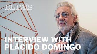 Plácido Domingo talks to EL PAÍS