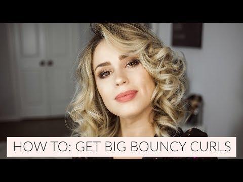How To Get Big Bouncy Curls