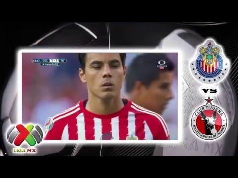 CHIVAS VS TIJUANA | 1  - 1  | CLAUSURA 2016 | RESUMEN JORNADA 8