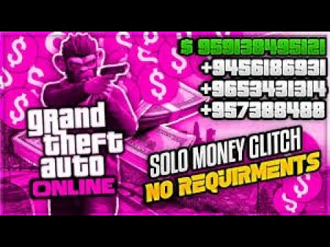 (NO REQUIREMENTS) GTA 5 SOLO Money Glitch For Everyone! (Unlimited Money) EASY MONEY!