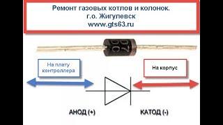 Перевірка пристрою розпалювання і іонізації на газових котлах