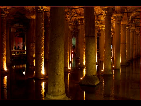 Visiting Basilica Cistern, Historical Landmark in Yerebatan Cd, Fatih Istanbul, Turkey