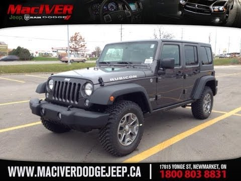 2014 Jeep Wrangler Unlimited Rubicon | MacIver Dodge Jeep | Newmarket  Ontario