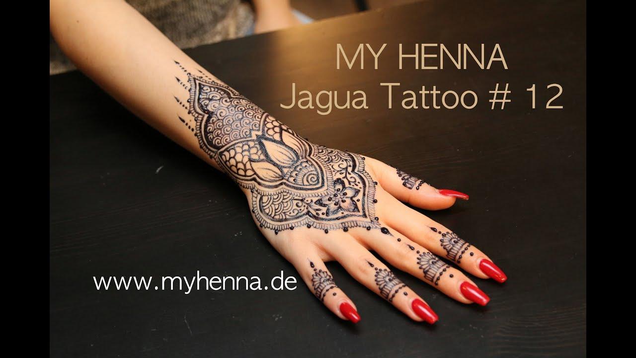 My Henna Jagua Tattoo 12 Youtube