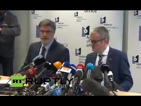 LIVE: Prosecutors office holds press conference on shooting in Brussels