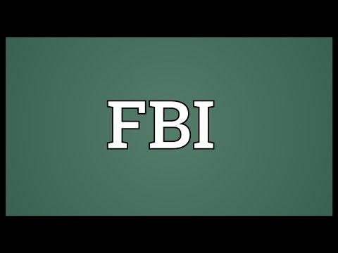 Full form of FBI - YouTube