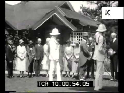 1930s Calcutta, Governor of Assam, Rare Footage Colonial India
