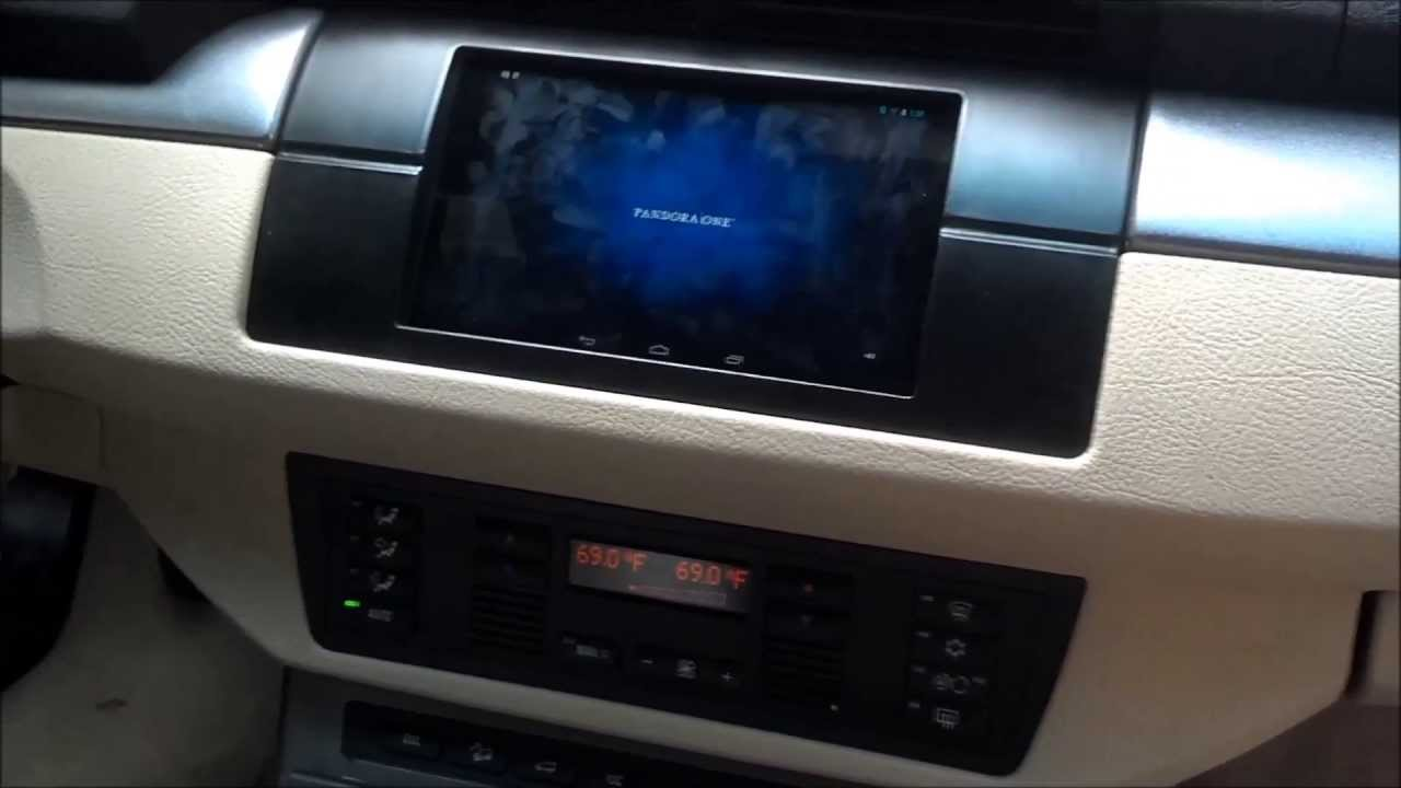 Nexus 7 Car Install 2004 E53 Bmw X5 Youtube