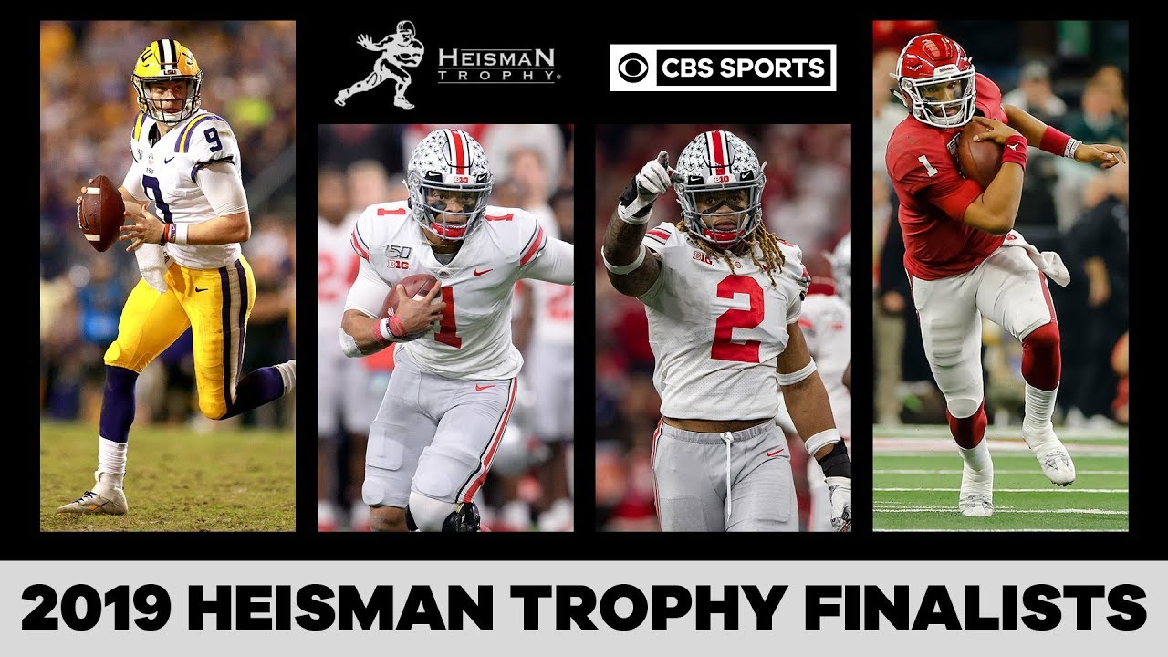 2019 Heisman Trophy ceremony -- How to watch, finalists, favorite ...