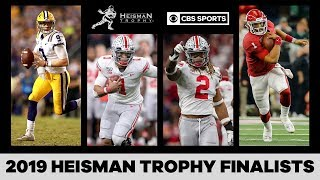 The 2019 Heisman Trophy Finalists | CBS Sports HQ