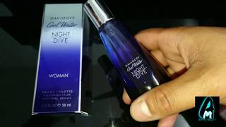 Davidoff Cool Water Night Dive Woman Perfume (Review)