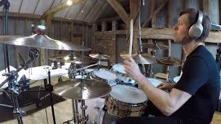 Tiempo De Festival by Dave Weckl, Steve Weingart and Tom Kennedy. Drum Cover Version by Andy Frost.