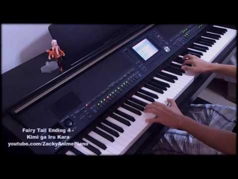 Fairy Tail Ending 4 - Kimi ga Iru Kara - Piano Improvisation