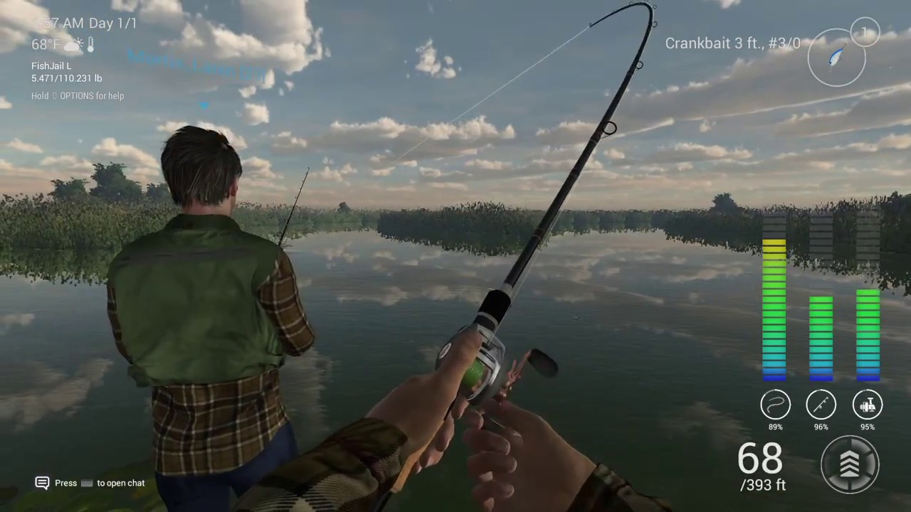 Fishing planet ps4 everglades fishing youtube for Fishing planet ps4