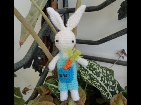 Tutoriel Lapin de printemps 🌸🐰 - Cat's Créa Crochet | 360x480