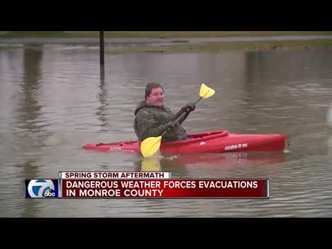Residents in parts of Monroe County evacuated due to severe flooding