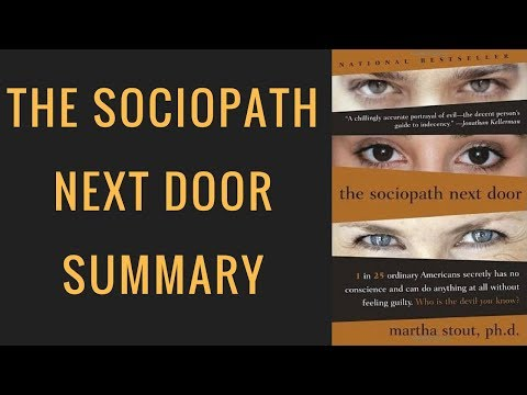 The Sociopath Next Door Review | Sociopath Next Door Animated Summary | Martha Stout Book Review