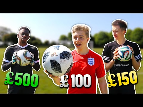 500 Jabulani v 150 Brazuca v 100 Telstar | World Cup Ball Battle