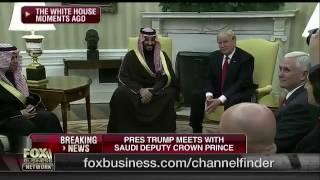 #عاجل بالصور والفيديو .. ترامب يحتفي بمحمد بن سلمان في البيت الأبيض