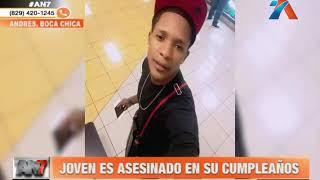 Un joven es asesinado en su fiesta de cumpleaños