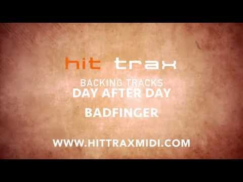 Day After Day Badfinger (MIDI Instrumental karaoke backing track)