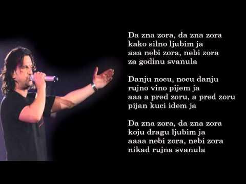 Aca Lukas - Da zna zora - (Audio - Live 1999)
