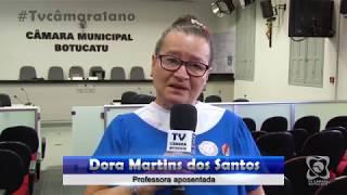 Parabéns 1 ano da TV Câmara - Dora Martins