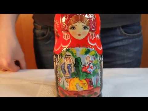 Матрёшка Репка | Марёшка с сюжетами сказки Репка