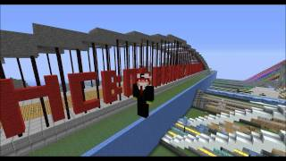Minecraft Band of Builders-Roman Aqueduct Bridge (HD)