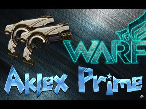 Build Warframe Aklex