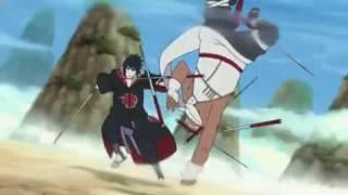 naruto shippuden killer bee vs sasuke