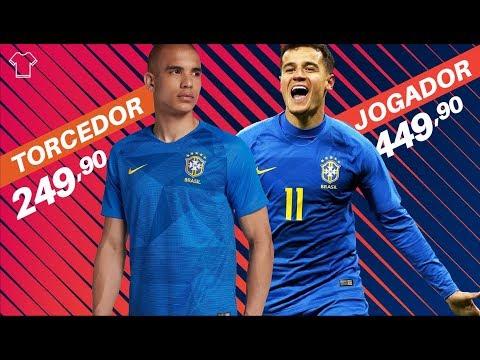 Camisa Nike Seleção Brasileira Torcedor x Jogador | Mantos Sagrados EP01