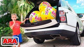 فلاد ونيكيتا كرات سيارة مفاجأة كاملة