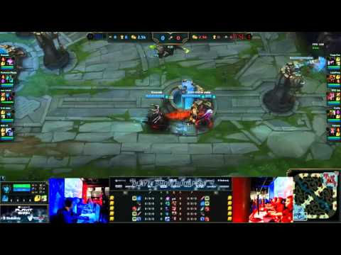 Wonder Stag e-Sports vs Huni magyar | PlayIT Show Budapest | 2015 november 28. | Döntő | BO3 | 1.