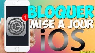 Bloquer la mise à jour automatique d'iOS sur iPhone/iPad !