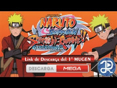Download Naruto Shippuden Shinobi Rumble Generations Mugen Full Game Pc Free Youtube