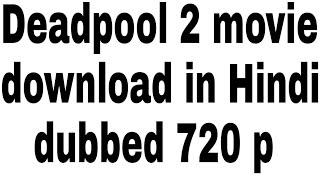deadpool kaise download kare