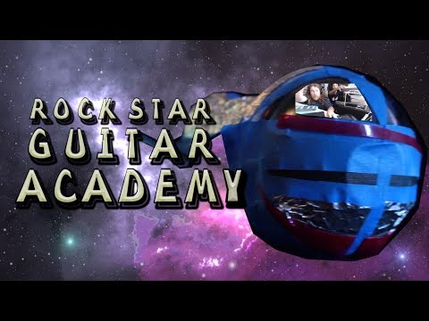 ROCK STAR GUITAR ACADEMY - Music Show - Guitar Basics Lesson Series - Theme Song
